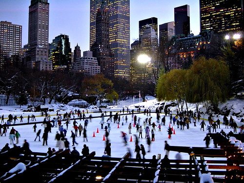 Winter at Wollman Rink, Central Park