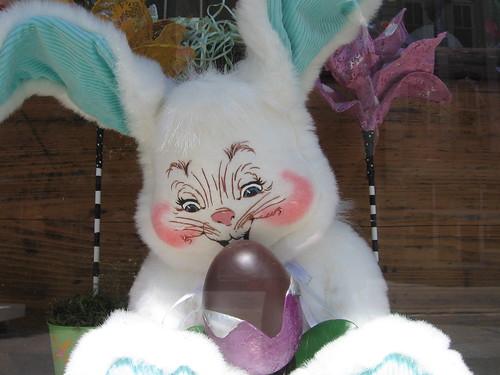 bunny window monster easter washington nc downtown display washingtonnc