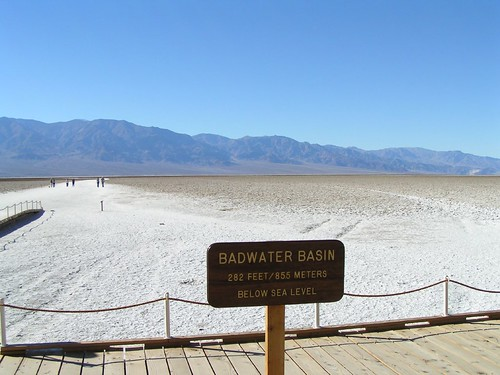Bottom of Death Valley, California