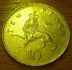 10p coin