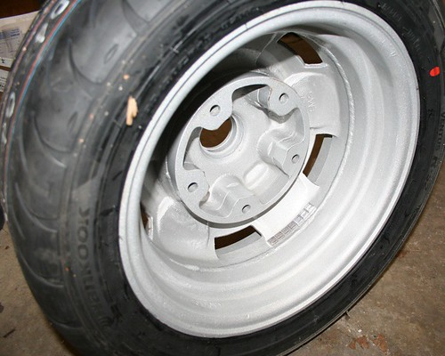 MSS Widened Wheel, Back View