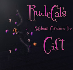 RudeCats - Nightmare Christmas Tree