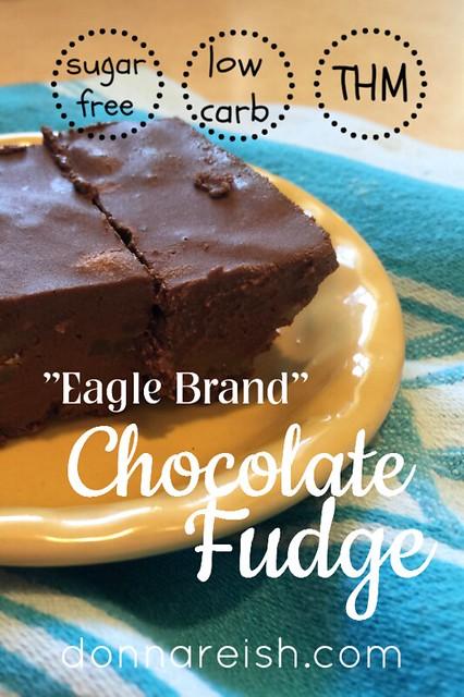 Eagle Brand Chocolate Fudge [Sugar-Free]