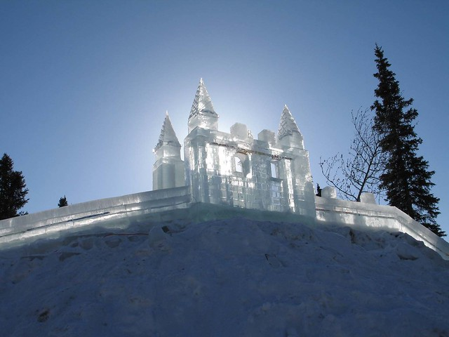 Ice Castle In The Air