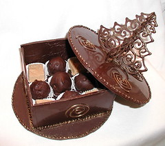 Christmas Choc Box - Open