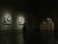 art, art gallery, museum, white, light, darkness, shadow, night, lighting,