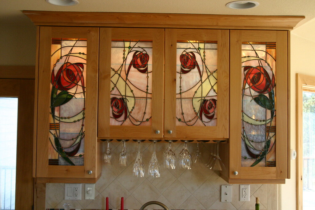 Custom Stained Glass by The Red Studio