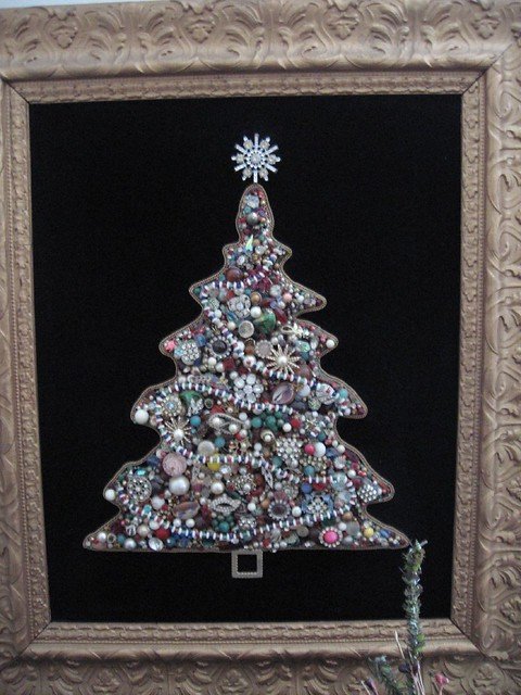 Jeweled Christmas trees - a gallery on Flickr