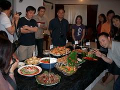 Circling The Food