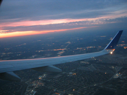 Wing over Houston