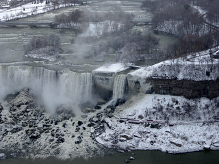 Bridal Veil Falls from the Skylon Tower