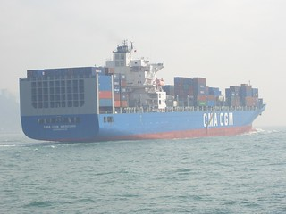 Freight Leaving Port