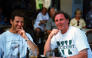 Dairn and Phillip, Dieppe, France, 1997