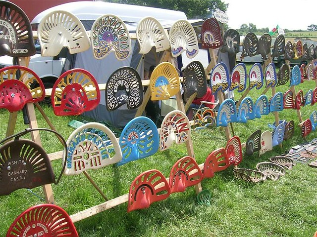 Old Time Tractor Seats : Old tractor seats flickr photo sharing