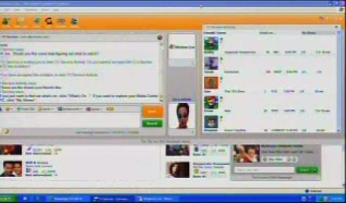 Windows Live Messenger activities