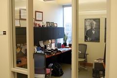 building, furniture, room, property, interior design, office,
