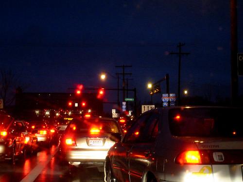 Semáforos en rojo