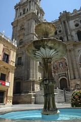 Malaga fountain
