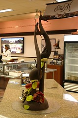 Chocolate sculpture at Ethel M. in Las Vegas