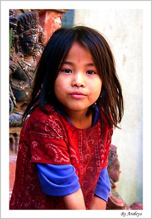 Sweet Girl in Patan