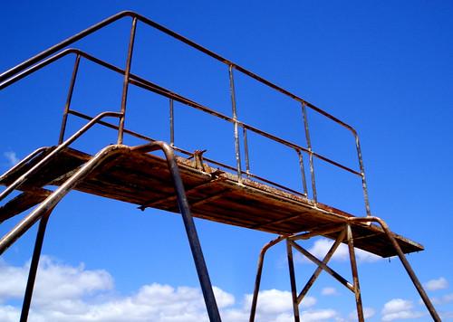 rusty diving board