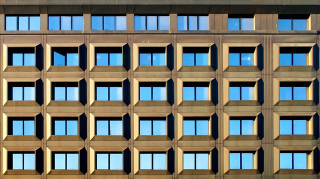 Arquitectura en Milán, Italia.