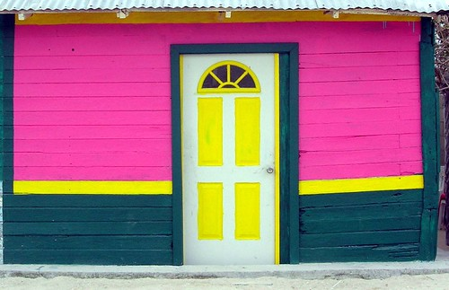 Colourful house