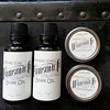 Hi there handsome. #Organic #beard oils and #mustache wax by @thehandsomecompany just in. Frankincense cypress or red thyme & clove. #calligraphy #handlettered #allnatural #madeinphilly #fathersday #facialhair #wellgroomedgentleman