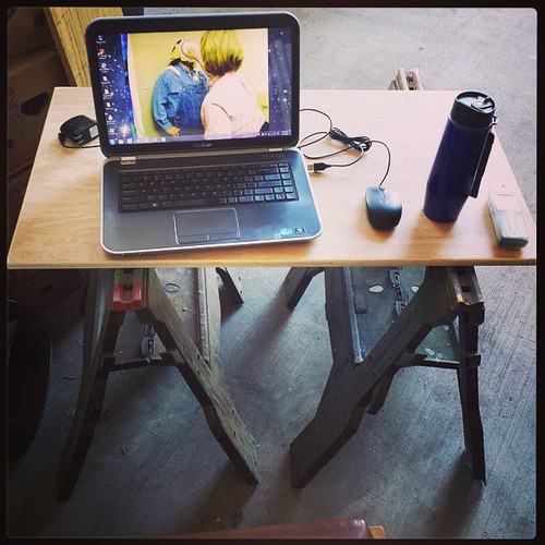 My lunchtime writing rig! #amwriting