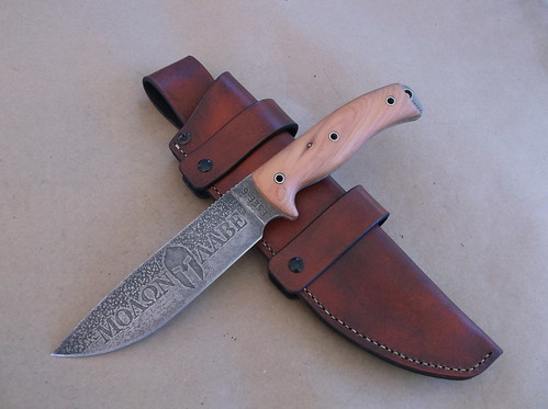 ESEE 6 custom mod and sheath
