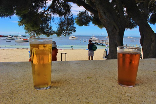 Hanging at the pub on Rotto!