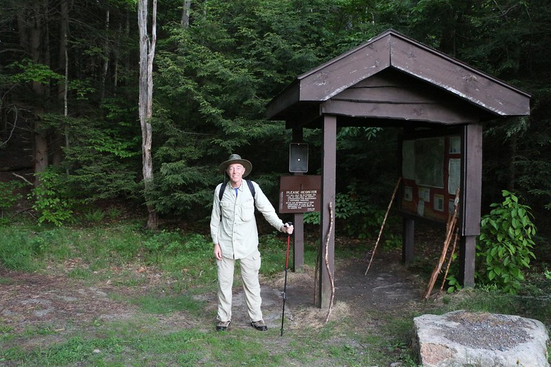 Me at the Denning Road Trailhead