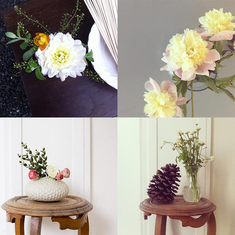 Mini bouquets de fleurs