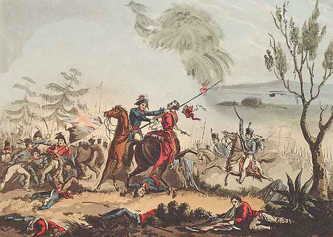 Battle of Albuera, by T. Sutherland