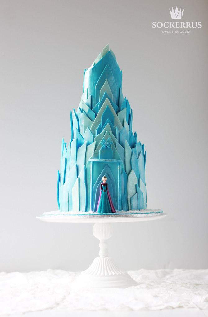 Elsa frost tårta