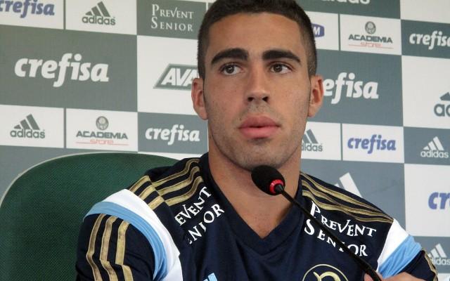Gabriel admite ansiedade para voltar a defender as cores do Palmeiras