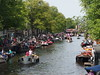 Gay Pride @ Prinsengracht Canal @ Amsterdam