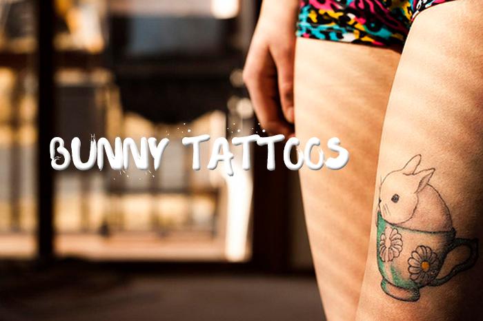 Bunny Tattoos | foreverpetite.net