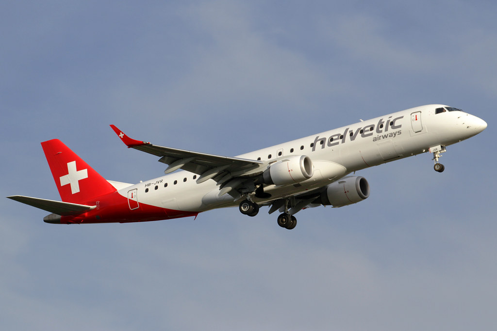 HB-JVR - E190 - Helvetic Airways