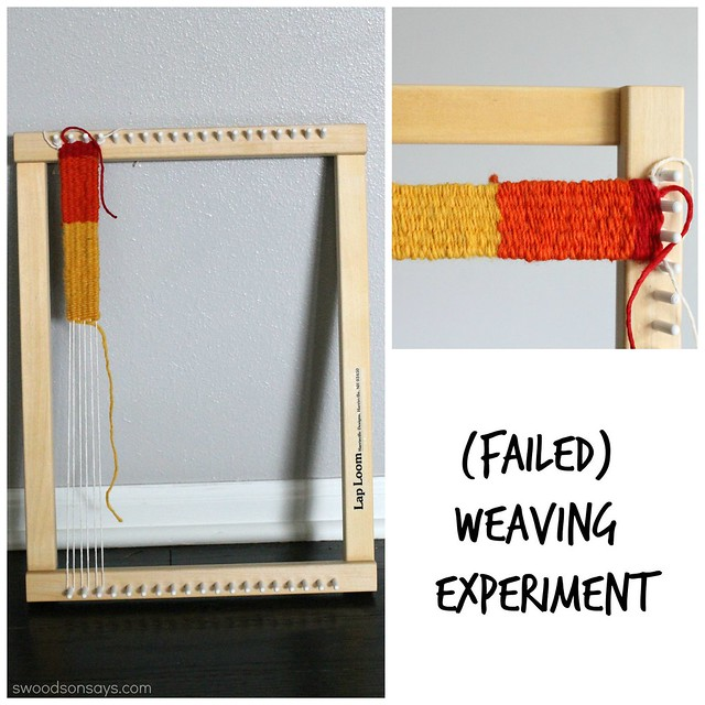 failed weaving tsnem