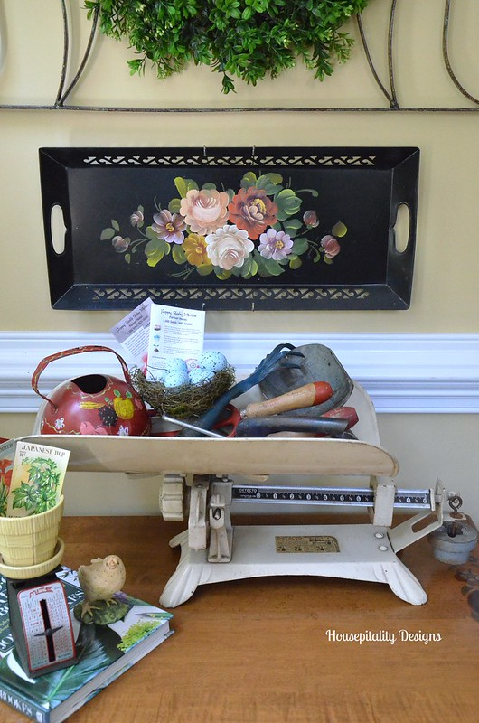 Vintage Baby Scale - Housepitality Designs