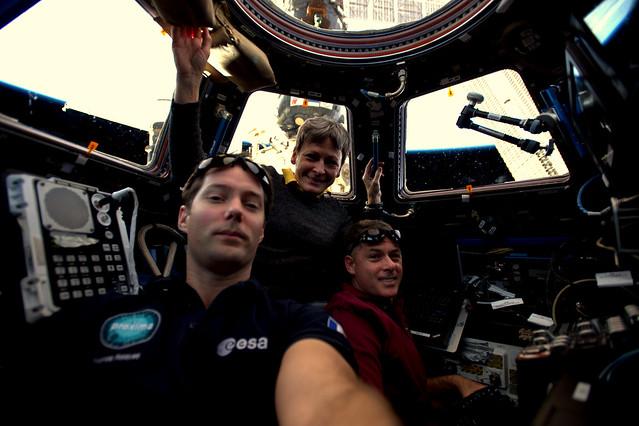 Crew Selfie