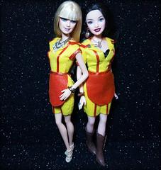 #2brokegirls #CBS #katdennings #bethbehrs  #carolinechanning #maxblack #ooakdoll