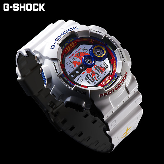 【抽選再販】《機動戰士鋼彈》35周年記念商品 G-SHOCK x GUNDAM 、夏亞專用G-SHOCK