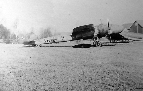 Dornier Do 17 P A6+AH of the Aufklarungsgruppe 120 in Norway Stavanger