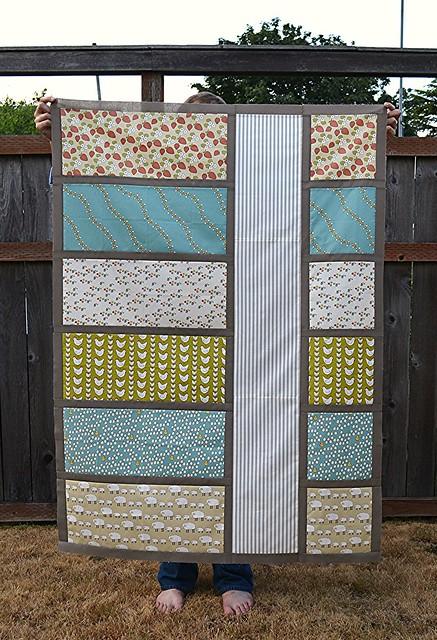 Colorblock quilt