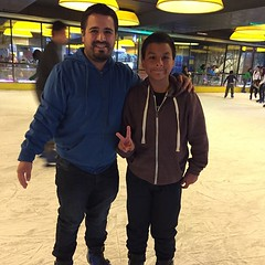 El Benja y yo, on ice