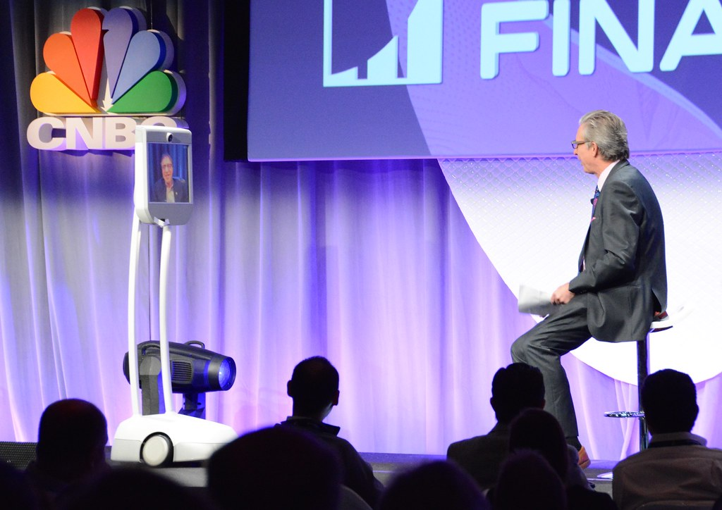 "A Conversation with Ray Kurzweil, Cofounder and Chancellor, Singularity University; Bob Pisani, Editor, CNBC ""On-Air-Stocks"".."