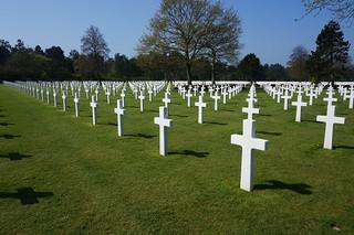 American cemetery at Omaha Beach