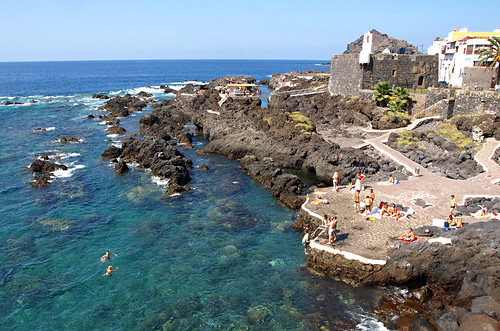 Garachico rock pools, Tenerife